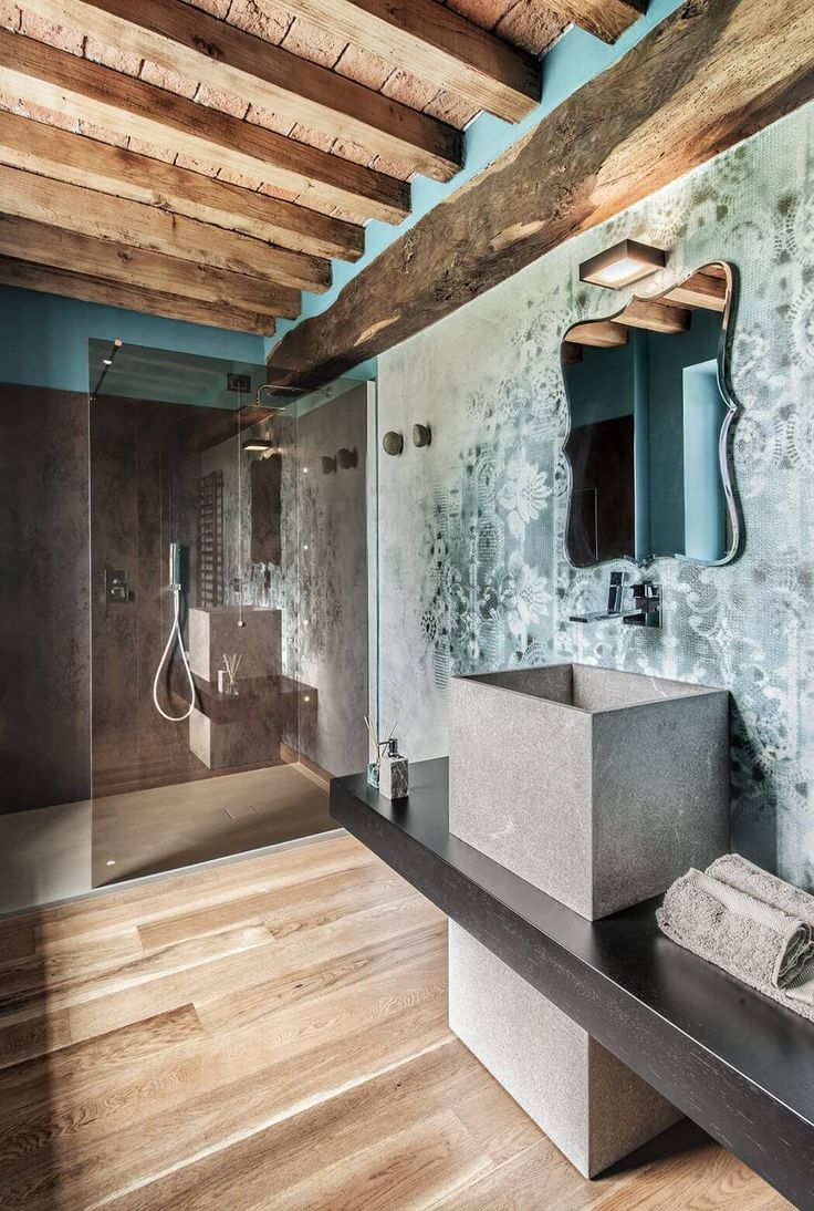 Rustic chic bathroom - 17 Best Images About Bathroom Style Rustic Chic On Pinterest