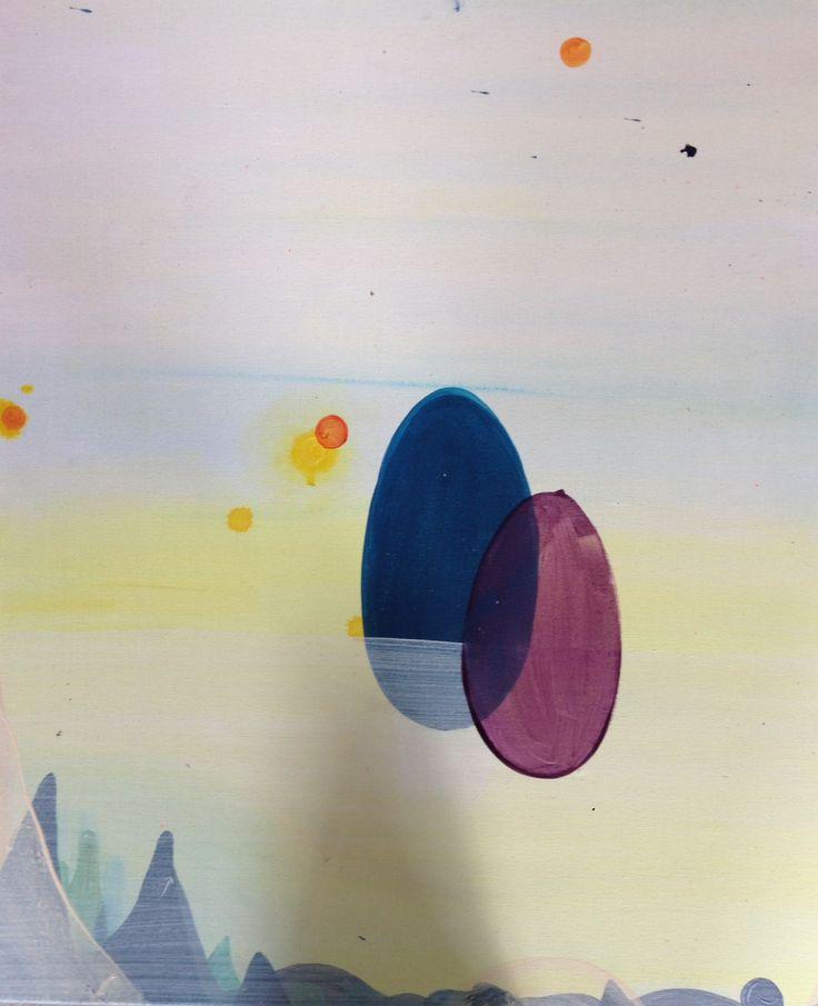 Akryll on canvas -2014 -
