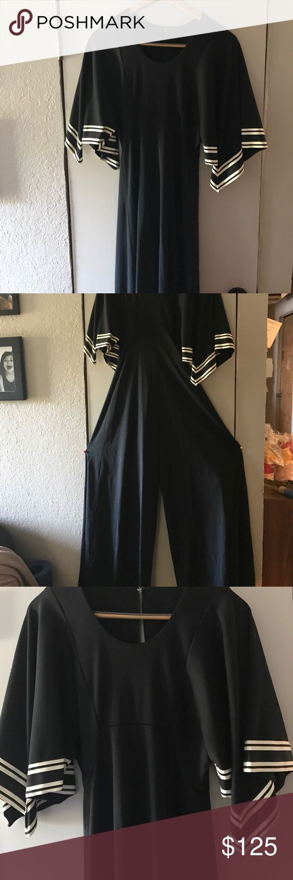 Vintage jump suit. Hello, selling a vintage jump suit that has no maker name or size. It looks to be homemade and size 6/5. The bottom will need to hem. I see a very small hole on the left leg in the middle. Super cool jump suit. I ship USPS priority mail.  I also sale on eBay and my user name is ndnjohn7172 with 100% feedback. If you have any Q's please send me a PM. Thanks, John S. Vintage Dresses High Low
