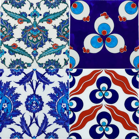 exquisite! Iznik #Turkish tiles    would be great as a backsplash or a table top