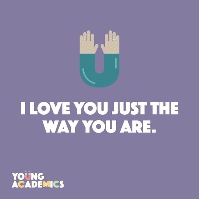 At Young Academics, we believe in promoting positive self-image. It can increase confidence, creativity, and self-esteem. Using phrases like this will encourage your little ones to see themselves in a positive light. #youngacademics #earlylearning