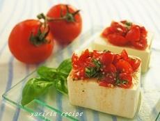 「塩麹トマトの冷奴」レシピ|みんなの朝ごはん・朝食レシピ:朝時間.jp