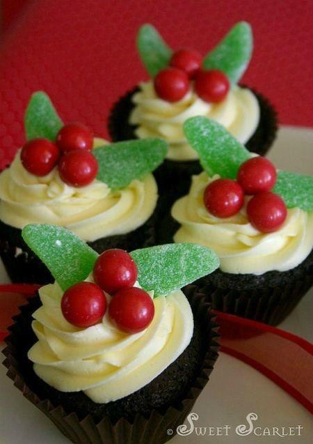 Mistletoe Cupcakes (image for inspiration)