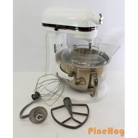 For Sale: Kitchen Aid Professional 6 525 Watts Stand Mixer Model KP2671XWH