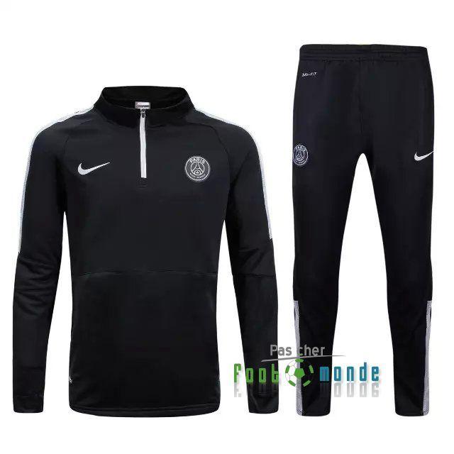 Nouveau Survetement de foot PSG Black 2015 2016