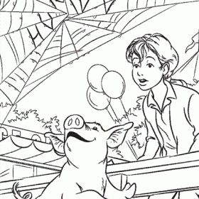 coloring pages charolettes web - photo#9