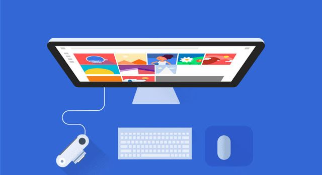 Cara upload foto dan video di Google Photo melalui PC/Laptop