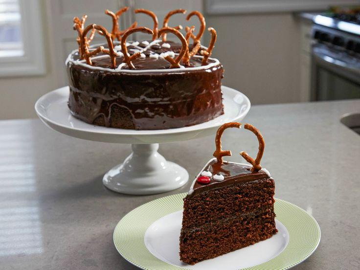 Chocolate Reindeer Cake recipe from Food Network Kitchen via Food Network
