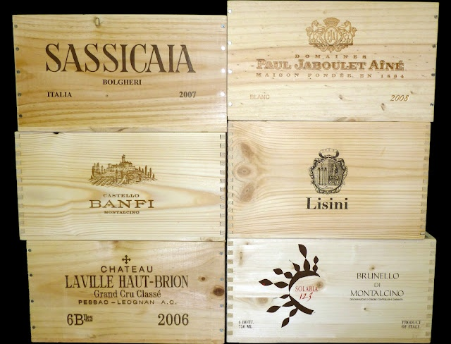 Nice Selection Of Six 6 Bottle Wooden Wine Crates From Various Countries And  Wine Making Regions. Home Design Ideas