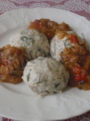 Рецепты для диабетиков: Паровые куриные тефтели с топинамбуром в соусе