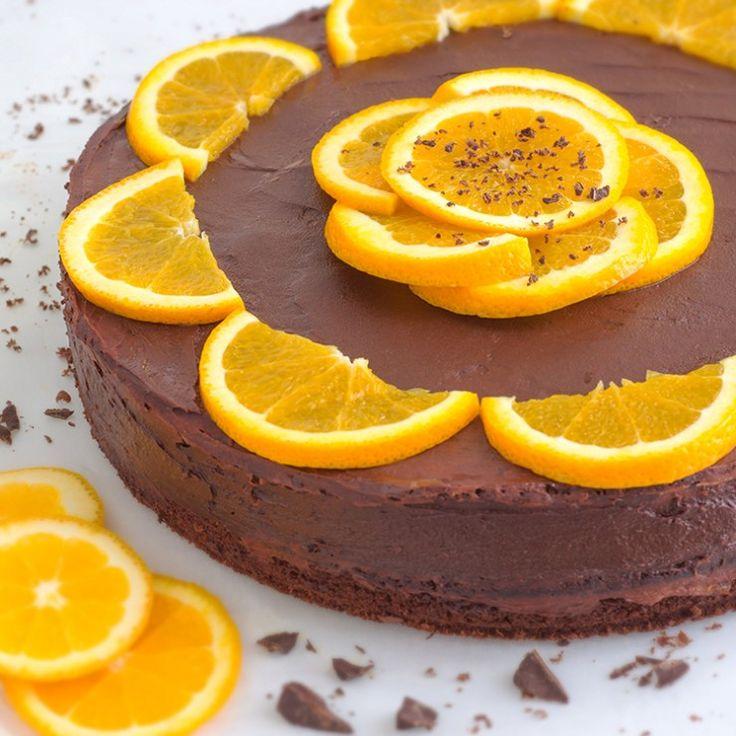 Dark Chocolate Orange Cake with Chia Seeds- Combination of Dark Chocolate, Oranges & Chia Seeds - Just Delicious!