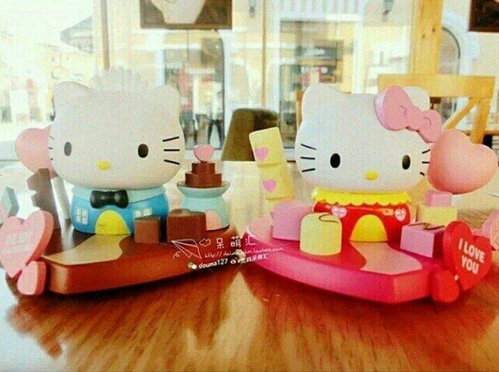 #miniatur #dekorasi #cake #hellokitty & daniel @ 135.000