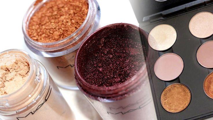 How to Press Pigments & Fix Broken Eyeshadows