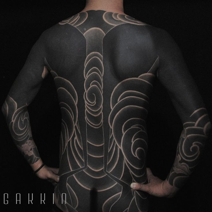 Bold Japanese Tattoos That Looks Like Full Body Suits   So Bad So Good