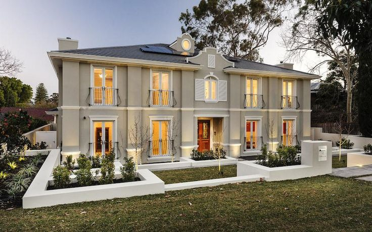 French Provincial - Oswald Homes - Luxury Home Builders Perth
