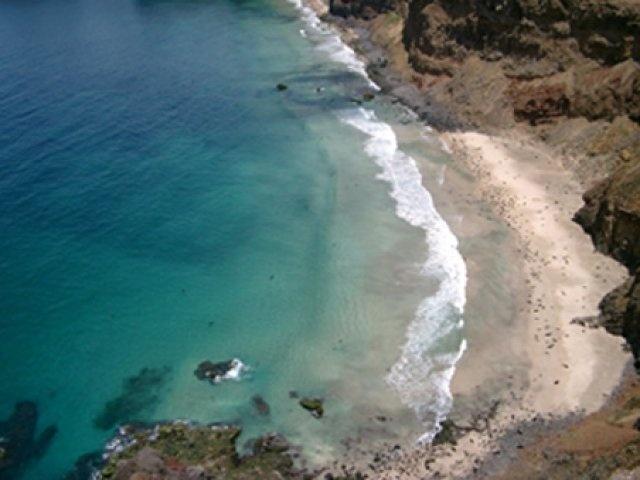 El Arenal Isla Robinson  Crusoe ,Archipielago Juan Fernandez. Chile.