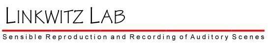 Linkwitz Lab - Loudspeaker Design