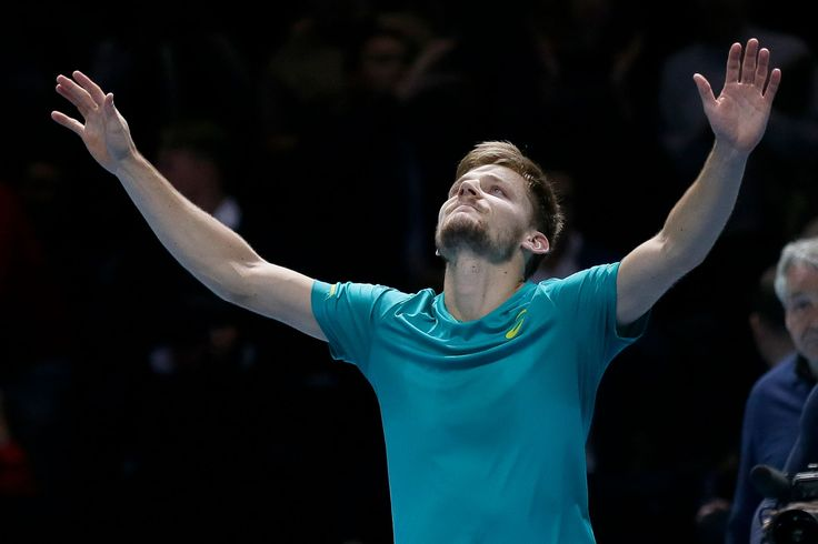 Goffin ousts Federer in ATP Finals semifinal comeback