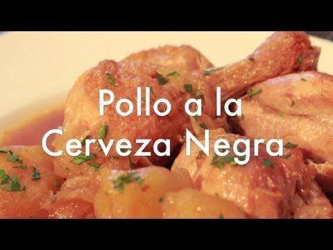 Pollo a la Cerveza Negra con Patatas - Receta para Olla Rápida o a Presi...
