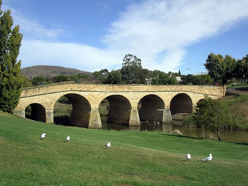 Richmond, Tasmania- Austrailia's oldest bridge... Such bitter sweet history I saw in this village
