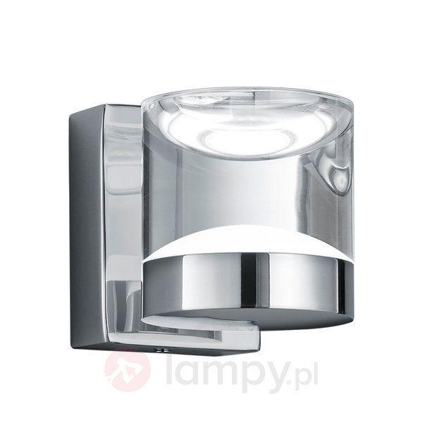 Chromowana łazienkowa lampa ścienna LED Brian 9005210