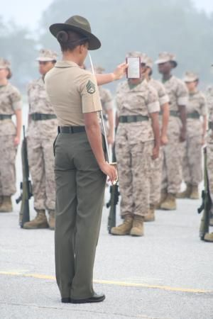 MCRD PI female recruit training