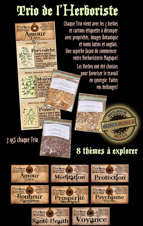 :: Charme & Sortilege :: [ Herboristerie, Herbs & Apothecary ]