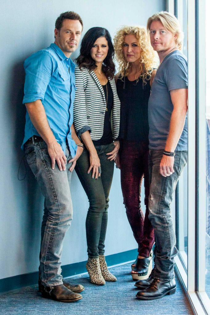 Jimi Westbrook, Kimberly Schlapman, Karen Fairchild and Philip Sweet of Little Big Town will perform March 18, 2016 at the Houston Livestock Show and Rodeo.