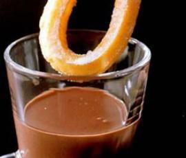 Receta de chocolate a la taza con Thermomix.