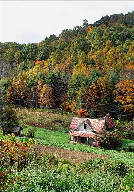 Appalachian Mountain Farm House