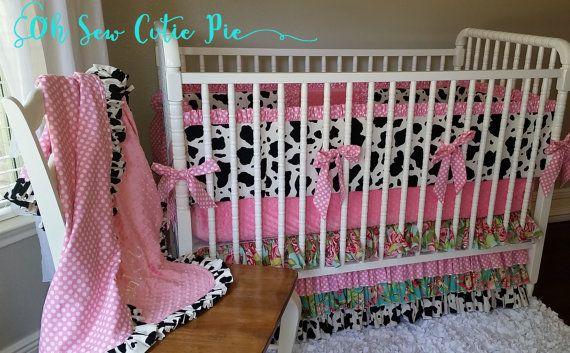 Farm girl Shabby Chic baby girl bedding. Baby & Toddler ...