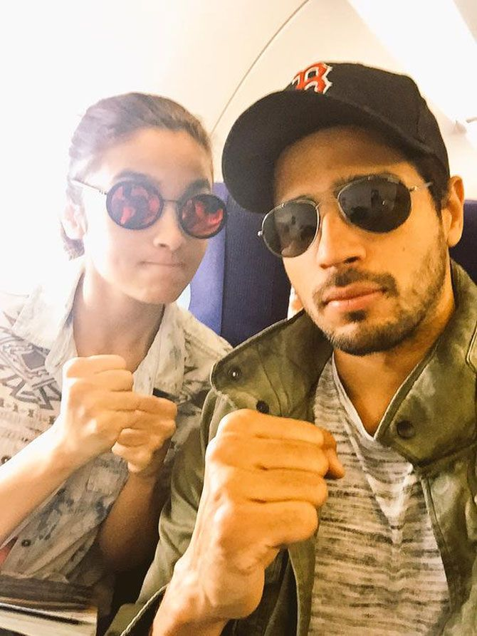 Alia Bhatt and Sidharth Malhotra take off to Coonoor for 'Kapoor and Sons'…