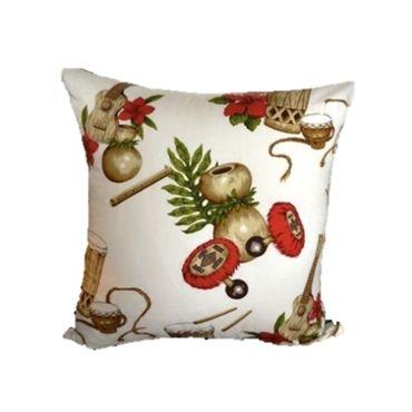 Hear the rhythm of those crazy bongos - cushion