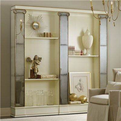 Modern History Home Retro Mirror Bookcase From Layla Grayce Laylagrayce Interiordesign