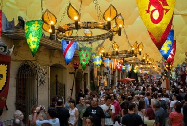 Festa Major de Gracia Barcelona (August)
