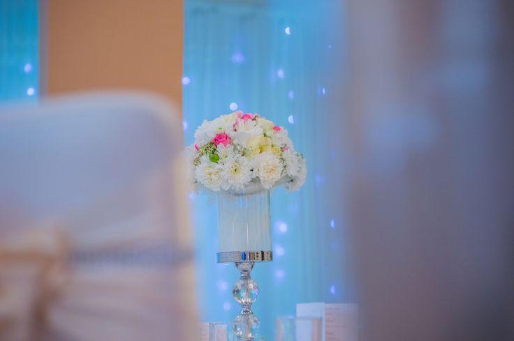 Krásna váza na ikebanu.
