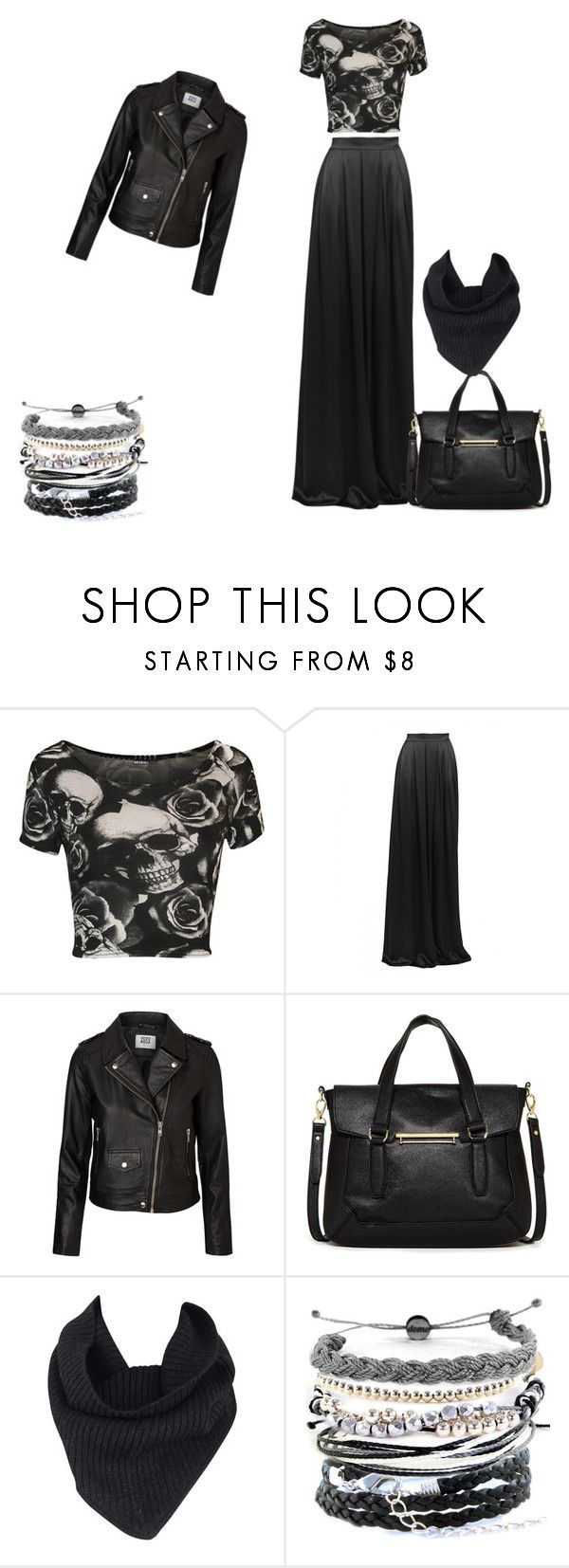 Casual witch by laebrown on Polyvore featuring moda, WearAll, Vero Moda, Matthew Williamson, Danielle Nicole, Domo Beads and A.L.C.