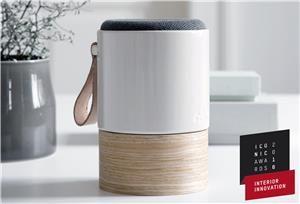 Kähler Fugato Høyttaler Creme Hvit. Fantastisk høyttaler med knallgod lyd og vakkert design. Gratis frakt på www.multitrend.no