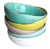 Perfect Pieces: Coloured Terracotta Bowls http://www.perfectpieces.com.au/