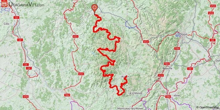 [Yonne] Grande Traversée du Morvan - Itinéraire complet (officiel) D'Avallon à Autun (ou l'inverse, la GTM est balisée dans les deux sens), la Grande Traversée du Morvan à VTT, sur plus de 330 km au total, vous fera goûter à la beauté et la variété des ambiances et des paysages de cette petite montagne exceptionnelle, classée parc naturel depuis 1970.  A travers des successions de collines qui s'élèvent en allant vers le sud, parfois entrecoupées de vallées encaissées et sauvages, vous…