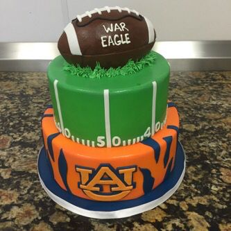 Auburn university football grooms cake normanloveconfections.com