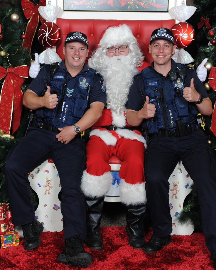 Ho-ho-ho it's the popopo! Toowoomba Police get in Santa's good books
