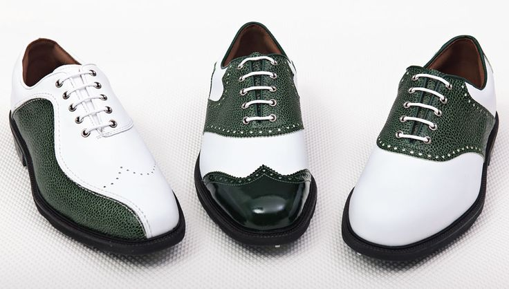 Golf shoes for the fashion-savvy golfer! Limited to just 200 pairs worldwide and starting around $ 205, the shoes come in nine FootJoy models, and can be ordered with cleats or spikeless.