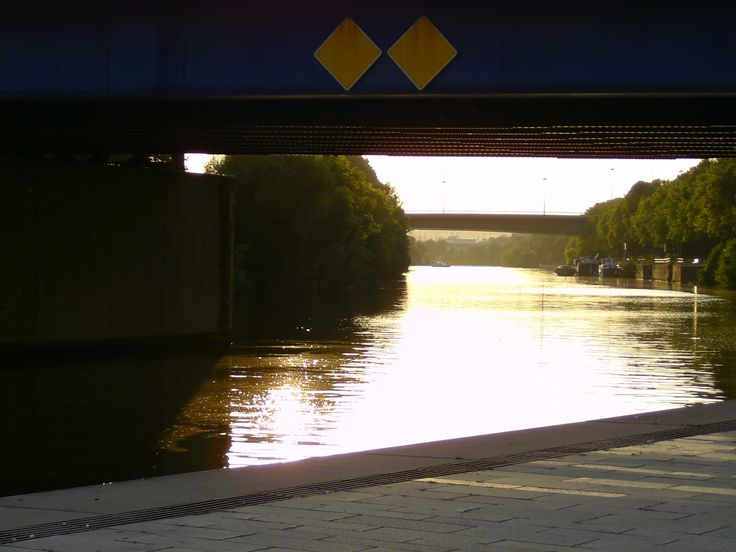 Viktoria-Brücke, Malstatter Brücke, September 2016