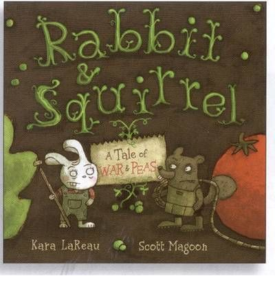 Rabbit loves her garden. Squirrel loves his. But then their delicious vegetables begin disappearing. And they have only each other to blame, or do they