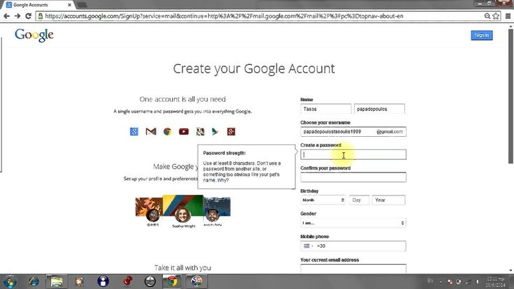 How to create new gmail email fast and easy!!!