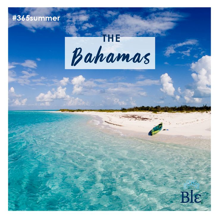 White, soft and warm sand. Coconut trees embracing the beach. And the blue waters seducing you to swim for hours. The days at the Bahamas are unforgettable.
