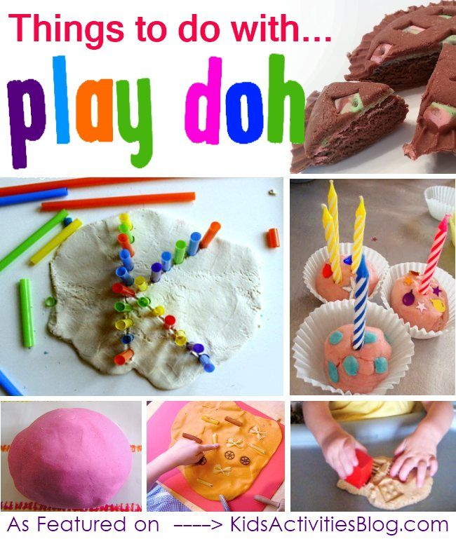 12 Fabulous {and Fun} Ways to Play with Play Doh - Kids Activities Blog