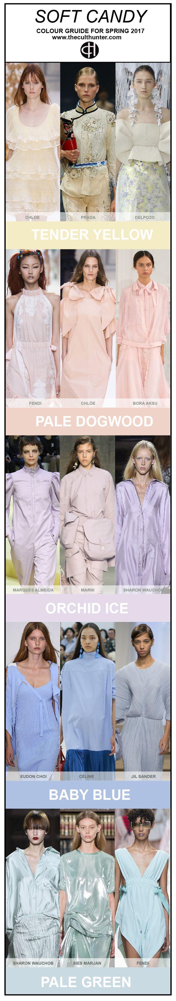 S/S 2017 women's colors trends http://spotpopfashion.com/d4av