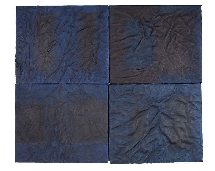 Blue & Black on Leathers www.studioleji.com